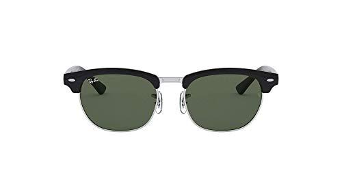 Ray-Ban JUNIOR Clubmaster Junior Gafas de sol, Black, 45 Unisex-Niño
