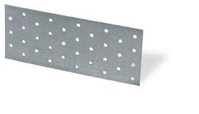50 Stück Lochplatte 60 x 120 x 2.0 Flachverbinder Holzverbinder Nagelplatte