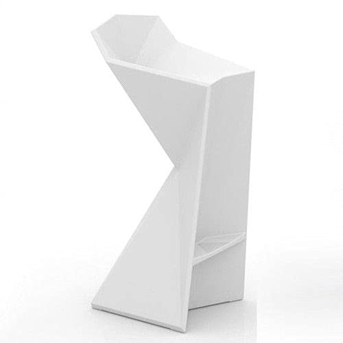 Vondom Vertex - Taburete, color blanco