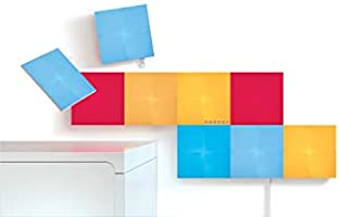 Nanoleaf Canvas Smarter Kit, Kunststof, Wit, 15 x 15 x 1 cm