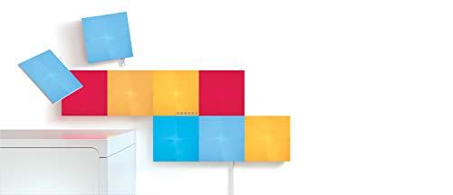 Nanoleaf Canvas Smarter Kit, Kunststoff, 9 W, Weiß