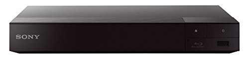 Sony BDP-S6700 Blu-Ray DVD Player with Wireless Multiroom, Super Wi-Fi, 3D, Screen Mirroring and 4K Upscaling (2016 Model) - Black