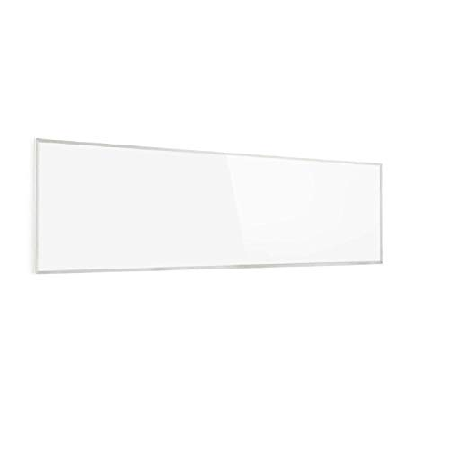 Klarstein Wonderwall Smart - Infrarot-Heizung - Wandheizung, Heizgerät, WiFi, Thermostat, Wochentimer, Abschaltfunktion, Allergiker-geeignet, antikweiß, 30x100cm, 300W