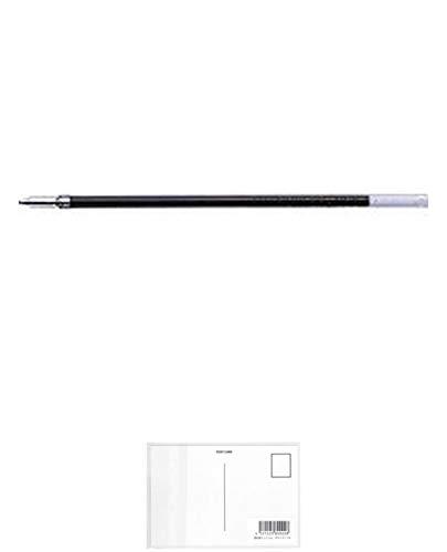 トンボ鉛筆 油性ボールペン替芯 CS2 BR-CS207 緑 『 2本』 + 画材屋ドットコム ポストカードA