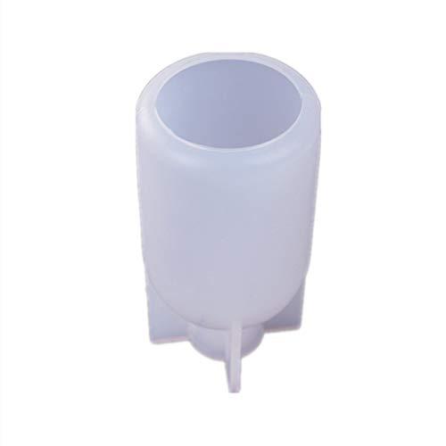 SUCHUANGUANG DIY Hada Botella Forma Lámpara Molde de Resina Bombilla Molde de Resina para Decoración del Hogar DIY Colgante