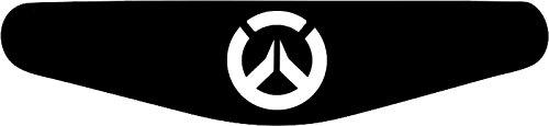 Play Station PS4 Lightbar Sticker Aufkleber Overwatch (schwarz)