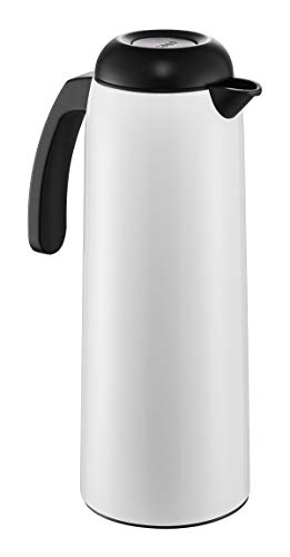 WESCO (ウェスコ) 保温卓上ポット ホワイト 1L バキュームジャグ ペーパーナプキン付 320106F-01