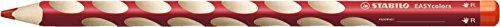 Ergonomischer Buntstift für Rechtshänder - STABILO EASYcolors - Einzelstift - kirschrot