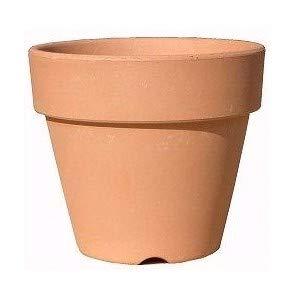 植木鉢 素焼き鉢 国産 シンプル 5号