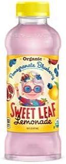 Sweet Leaf Organic Blueberry Pomegranate Lemonade 16oz
