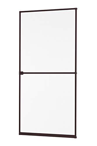 empasa Insektenschutz Fliegengitter Tür Alurahmen START Selbstbausatz in weiß, braun oder anthrazit 100 x 210 cm
