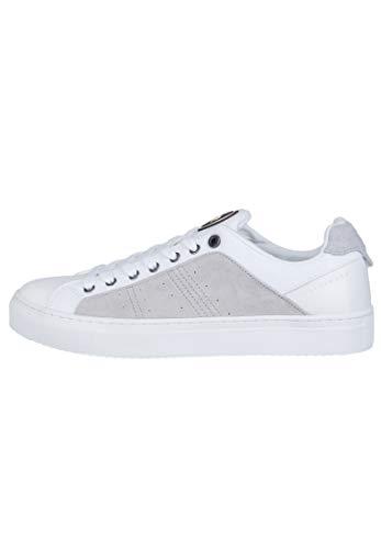 Colmar Bradbury out White Bianco Scarpe Sneakers Uomo Lacci Pelle 45