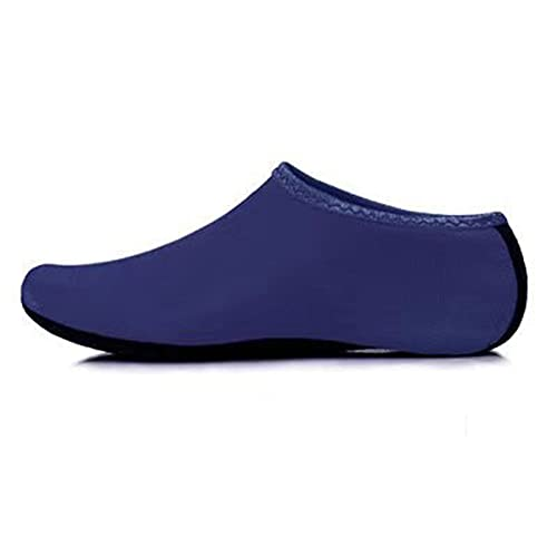 Qier Zapatos De Agua,Calzado Deportivo De Yoga Transpirable De Secado Rápido Antideslizante para Mujer,Deporte Al Aire Libre,Playa,Pesca,Natación,Agua,Naranja,XXL