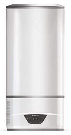 Ariston Lydos Hybrid Termo Electrico 100 litros | Calentador de Agua Vertical, Combinación de la Aerotermia y la Resistencia Eléctrica – Máxima Eficiencia