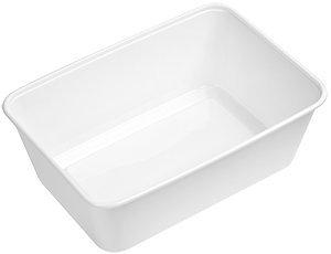 Mikrowellen Einzelbox Meal Prep Behälter mit Deckel 950ml (50 Stück)
