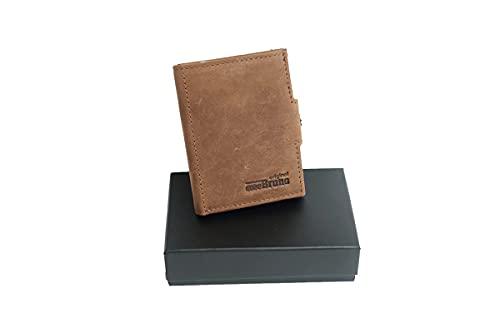 Slim Wallet Deluxe, Marrón Vintage Castaño, small,
