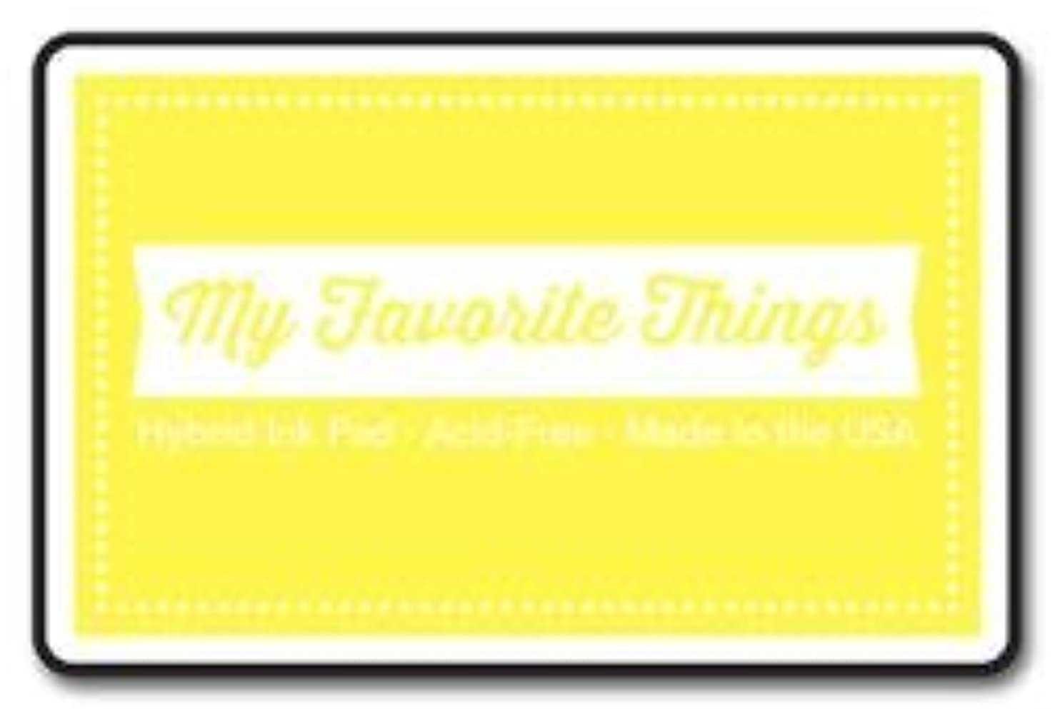 My Favorite Things HPAD-67 Hybrid Ink Pad 3 x 2 in. - Sunshine