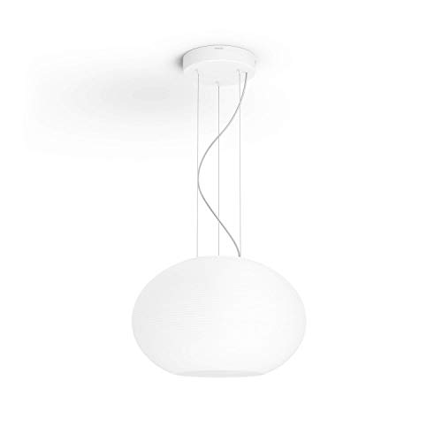 Philips Lighting Hue Flourish White and Color Ambiance Lampada da Sospensione LED Integrato, con Bluetooth, Connessa, 31 W, Bianco