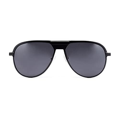 MIZUKOO Gafas de Sol Polarizadas Unisex Modelo YAKUZA Black / Smoke