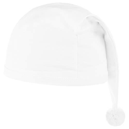Das Kostümland Schlafmütze für Kinder Weiß