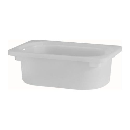 Ikea TROFAST - Caja de Almacenamiento, Blanco - 20x30x10 cm