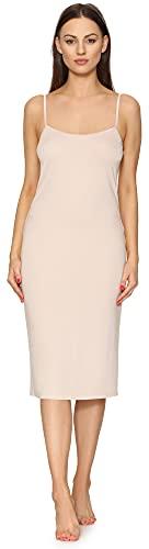 Merry Style Fond de Robe Lingerie Femme MS10-402 (Nude, S)