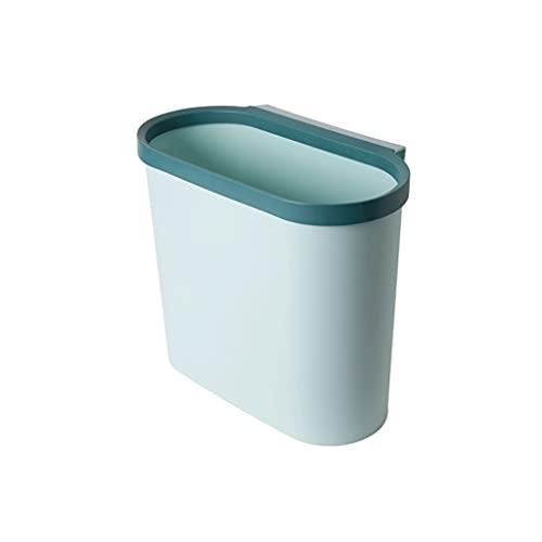 Contenedores Papel de basura para colgar en casa debajo del fregadero para la cocina, cubo de basura para alimentos para ancho de puerta ≤2.4cm, cubo de compost de cocina para baño, cocina Urnas decor