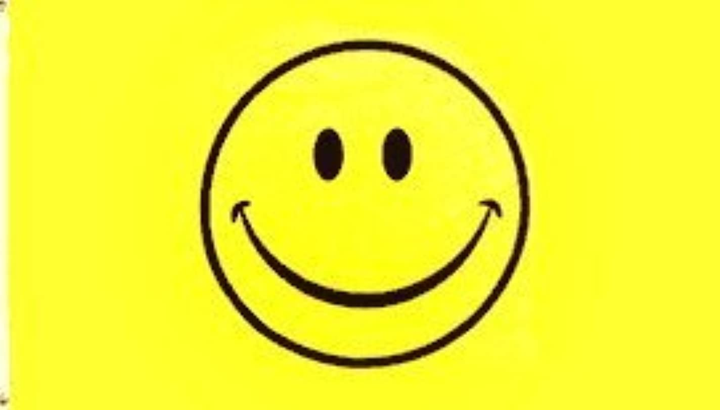 臭いタービン推測3?' x5?' Smiley Faceフラグ、Happy Smile Bong Peace酸Sunshine smiling