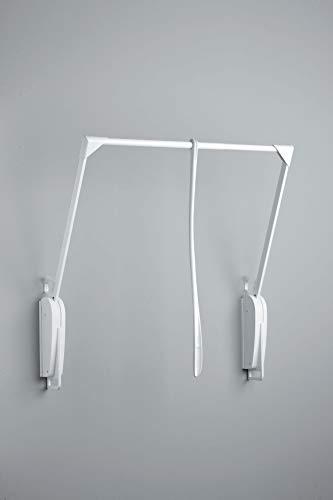 Appendiabito saliscendi 8 Closet Pro Servetto OTTO INNOMINATO 62-95 - Bianco-Bianco