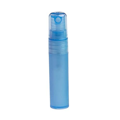 CHEN-C Botella de Spray 5 ml / 10 ml de Perfume vacío Botella de Botella de plástico plástico Botella de plástico líquido Agua atomizador portátil Largo Trompeta Dispensador de Perfume