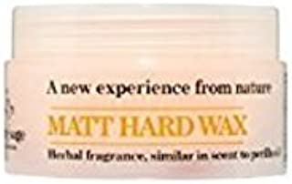 Erba Classico Natural Aroma Clary Sage Matt Hard Hair Wax Herbal Fragrance Similar Scent to Perilla Oil Imported WAX with Powerfully Hold and No Grease of 3.17 Oz / 90 G