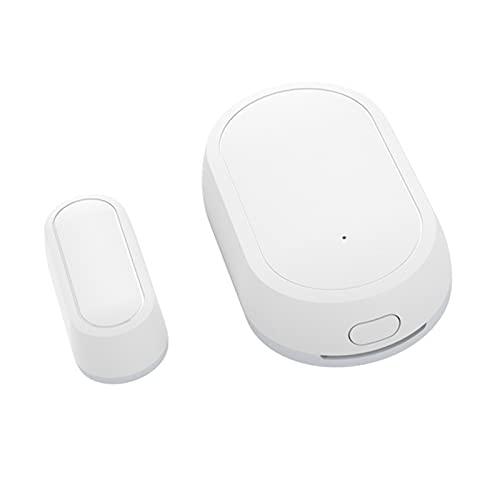 Sensor de puerta inteligente Tuya, detector de sensor de puerta de ventana ZigBee para puerta, requiere concentrador, sistema de alarma de seguridad para el hogar inteligente