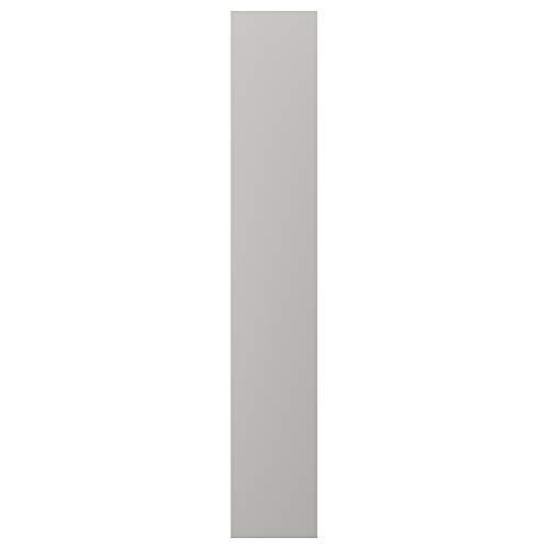 LERHYTTAN täckpanel 39,3 x 240 cm ljusgrå