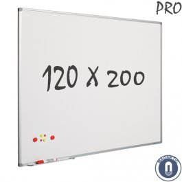 Whiteboard - 200 x 120 cm - Magneet/Emaille