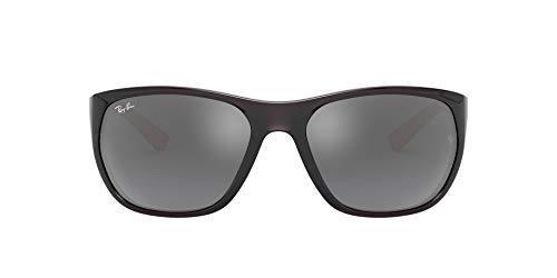 Ray-Ban 0Rb4307 Gafas de Sol, Transparente Grey, 61 para Hombre
