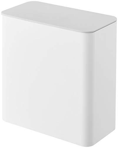 山崎実業 マグネット洗濯洗剤ボールストッカー ホワイト 約17X9.5X17cm プレート ジェルボール ストッカー 4700