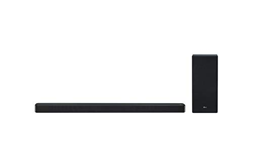 LG SL7Y Soundbar 3.1 Canali da 420W, con Tecnologia DTS Virtual:X e Dolby Digital, Subwoofer Wireless e Chromecast Integrato