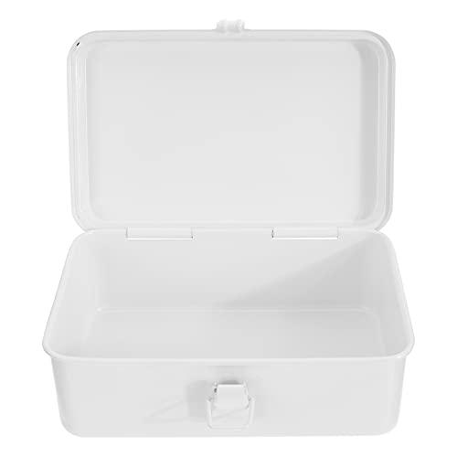 Cabilock Caja de Almacenamiento de Hojalata con Candado de Escritorio Caja de Lata para Joyería Té de Caramelo Café Cosméticos Joyería Foto Regalo