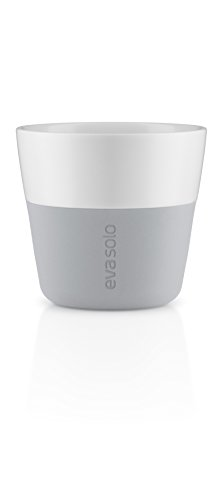 EVA SOLO Lungo-Becher 230 ml, 2 stück, Porzellan, Marble Grau