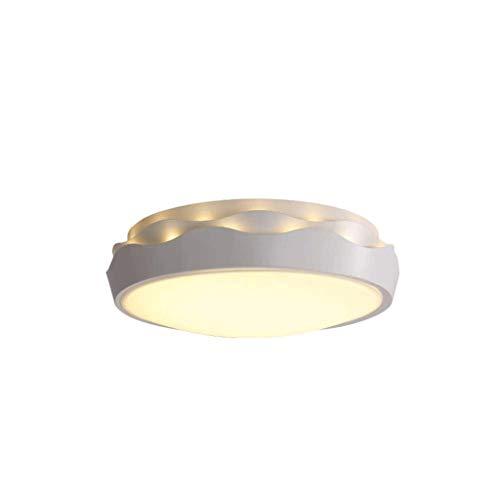 XYZMDJ Luz de Techo - Abertura del Montaje del Accesorio Ligero lúmenes LED Luces de Techo Regulable Caliente Lista Blanca for escaleras del Dormitorio Cocina Pasillo
