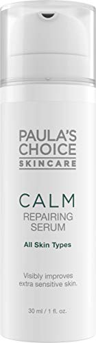 Paula's Choice Calm Repairing Serum - Hautpflege Vermindert Rötungen mit Hyaluronsäure & Ceramide - Hautserum auch für Rosazea Empfindliche Haut - Alle Hauttypen - 30 ml