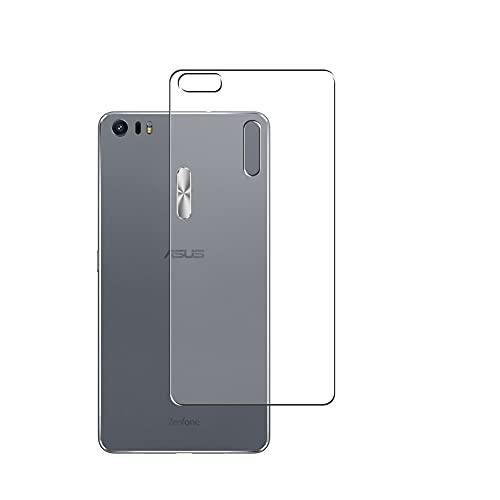 Vaxson 2 Unidades Protector de pantalla Posterior, compatible con Asus Zenfone 3 Ultra ZU680KL Zenfone3 [No Vidrio Templado] TPU Película Protectora Espalda Skin Cover