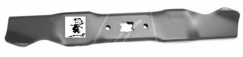 Cuchilla de 398 mm para cortacésped MTD de gasolina (repuesto para MTD 742-04111)