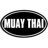 thai decal - Chase Grace Studio Muay Thai Martial Arts MMA Kickboxing Vinyl Decal Sticker|WHITE|Cars Trucks Suvs Laptops Tool Box Wall Art|5.5