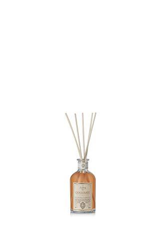 LOGEVY - Parfumverspreider met stokje - Chocolade en oranje huisgeur (100 ml)