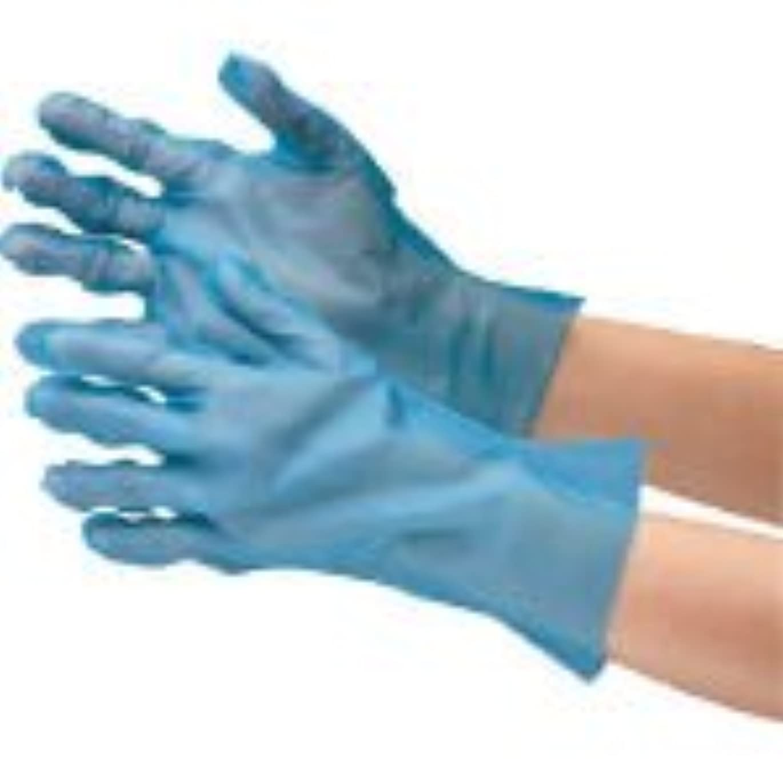 検査コンサルタント聞くミドリ安全/ミドリ安全 ポリエチレン使い捨て手袋 外エンボス 200枚入 青 S(3915310) VERTE-576-S