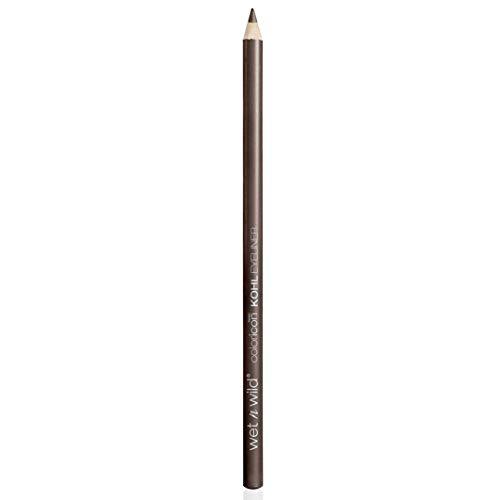 Wet n Wild - Color Icon Kohl Eyeliner Pencil - Delineador Marrón - Lápiz de Ojos - Color Intenso e Hiperpigmentado - Suave, Cremoso y Fácil de Aplicar - Pretty in Mink - 1 Unidad