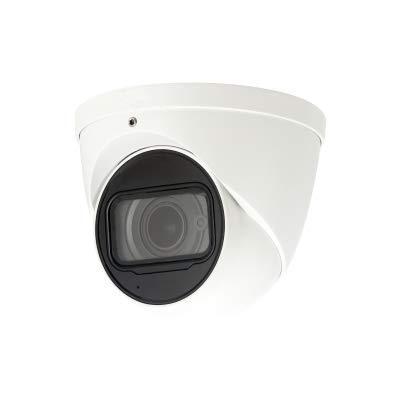 DHTek/Dahua OEM IPC-HDW5831R-ZE 4K UltraHD 8MP Eyeball Dome IP Camera, PoE, 4X Optical Zoom, 2.7-12mm Motorized Lens Smart IR, Micro SD Card Slot (No Logo)