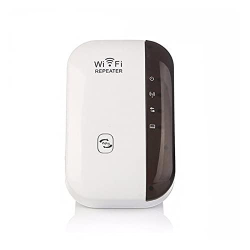 CML WiFi inalámbrico Repetidor WiFi Range Extender Router Amplificador de señal de Wi-Fi 300 Mbps WiFi Booster 2.4G Wi Fi Ultraboost Point (Color : White, Socket Standard : AU Plug)