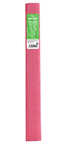 Rollo 50x250 cm, Canson Crespón Estándar 32g, Rosa Claro (60) ⭐